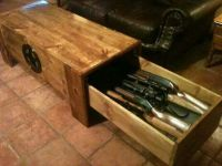 Coffee table | coffee tables/gun cabinets | Pinterest