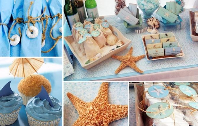 Decorations  Beach Themed Birthday Party  Pinterest