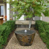 Outdoor Fountains For Small Spaces Minimalist - pixelmari.com