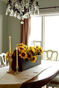 Fall Dining Room Centerpiece | Home ideas | Pinterest