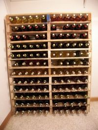 homemade wine rack out of pallets | Drinks and Eats ...