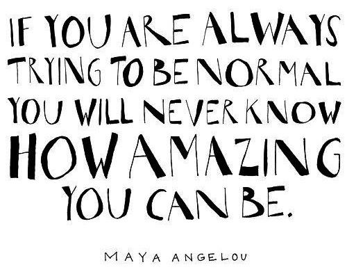 Be amazing quote via Living Life at www.Facebook.com/KimmberlyFox.39