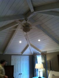 Vaulted wood plank and beam ceiling | MACGREGOR'S PROJECTS ...