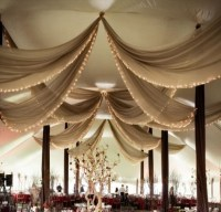 sheer draped fabric for tent ceiling | 8th grade Dance ...