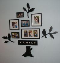 Family tree wall art | Design | Pinterest