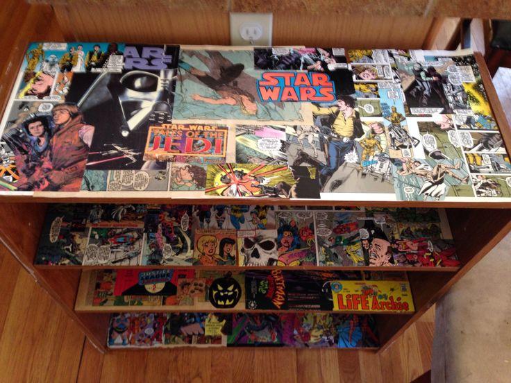 Comic book Book shelf