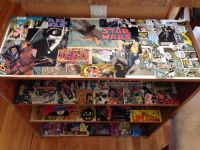 Comic book Book shelf   CORE Display Ideas   Pinterest