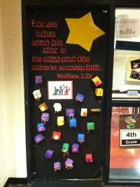 4th grade door decorations...!!!   Christmas   Pinterest