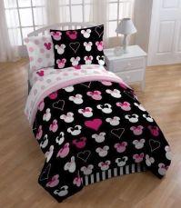 Disney Minnie Mouse Reversible TWIN Comforter Set w/Sham ...