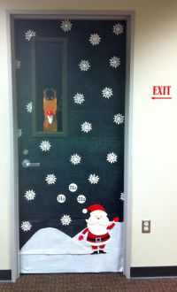 Office Door: Holiday Office Door Decorating Ideas