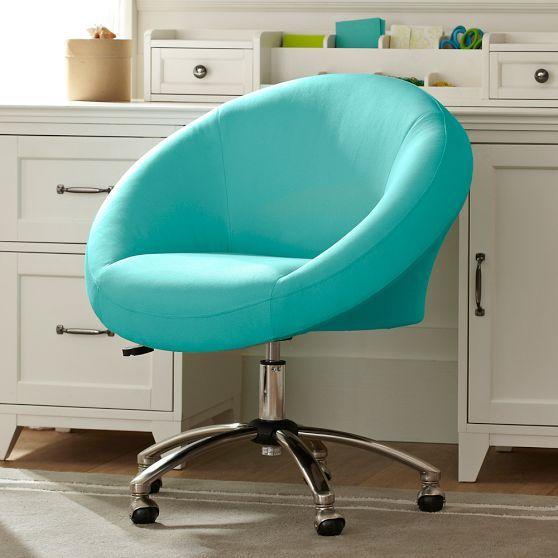 Egg Desk Chair  PBteen  home  Pinterest