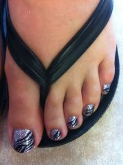 zebra toes awesome prom