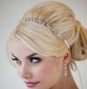 bridal ribbon headband