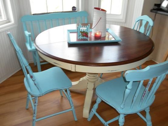 kitchen table ideas for refinish  House  Pinterest