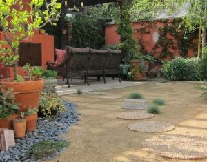 Small Patio Landscaping Ideas Home Design Ideas Pictures