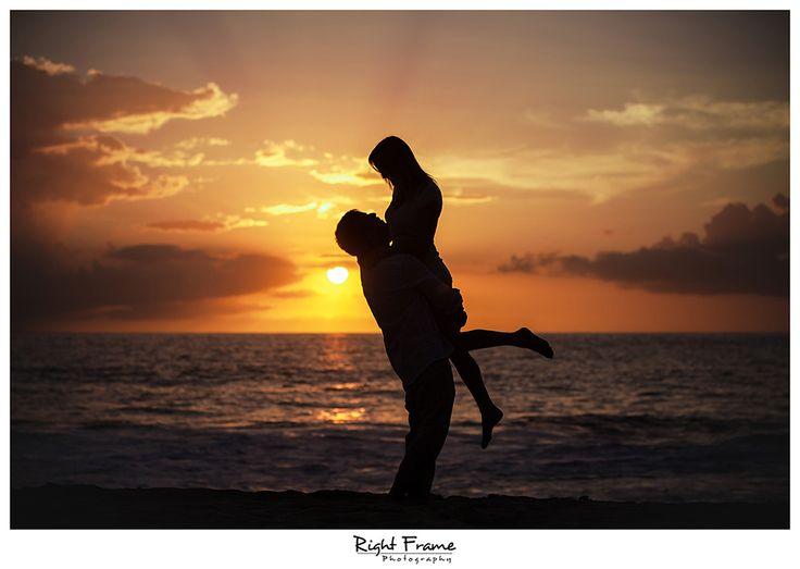 www.rightframe.net – Oahu Engagement photography at Yokohama Beach. Honolulu, Hawaii, portrait, portraits, ideas, idea, waikiki, hawaiian , couple,couples, photo, pictures, photos, pose, holiday, vacation, poses, posing, portraits, session, fun, proposal, anniversary, surprise, silhouette, sunset.