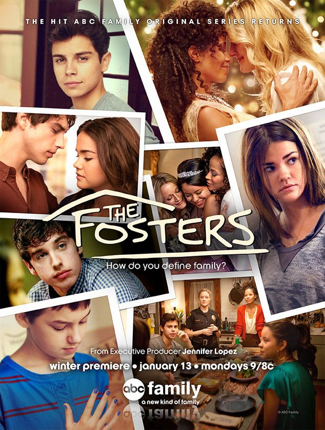 The Fosters!!  Starring: Maia Mitchell (Callie Jacob), Jake T. Austin (Jesus Foster), David Lambert (Brandon Foster), Cierra Ramirez (Mariana Foster), Sheri Saum (Lena Adams), Teri Polo (Stef Foster), Hayden Byerly (Jude Jacob)