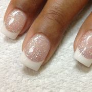 winter- french manicure