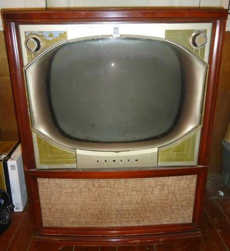Vintage Zenith Floor Model Tv