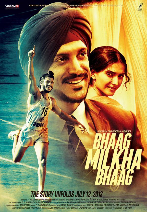 3rd poster for BHAAG MILKHA BHAAG by raj khatri, via Behance