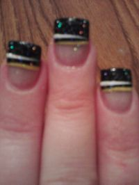 Steelers nails! | Party and Gift Ideas | Pinterest | Nails ...