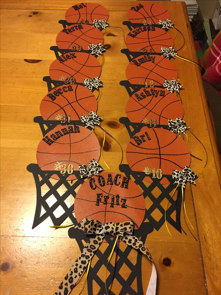 Homemade Basketball Posters