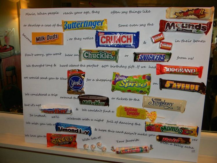 Candy Bar Poem For Boss