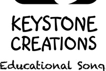 Keystone Creations ~ Educational Songs on Pinterest