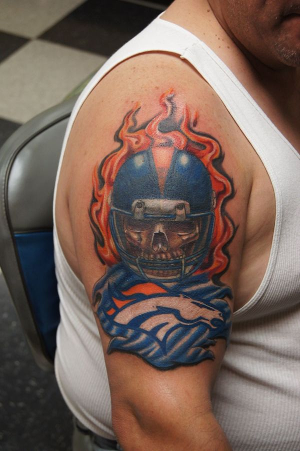 20 Denver Broncos Tattoo Designs Pictures And Ideas On Stem