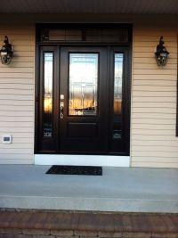 Black front door | For the Home | Pinterest