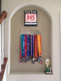Medal Holder & Bib Holder | Running | Pinterest