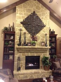 Fireplace Mantel Decor | Rustic Decor | Pinterest