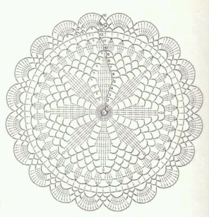 crochet doily patterns with diagram 2003 dodge dakota radio wiring square motif diagrams free for you dancox circle unique