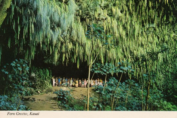 Fern Grotto Kauai Hawaii Postcards-hawaii