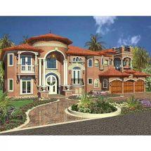 Luxury Mediterranean Style Home Plans