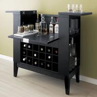 Wine and liquor cabinet.