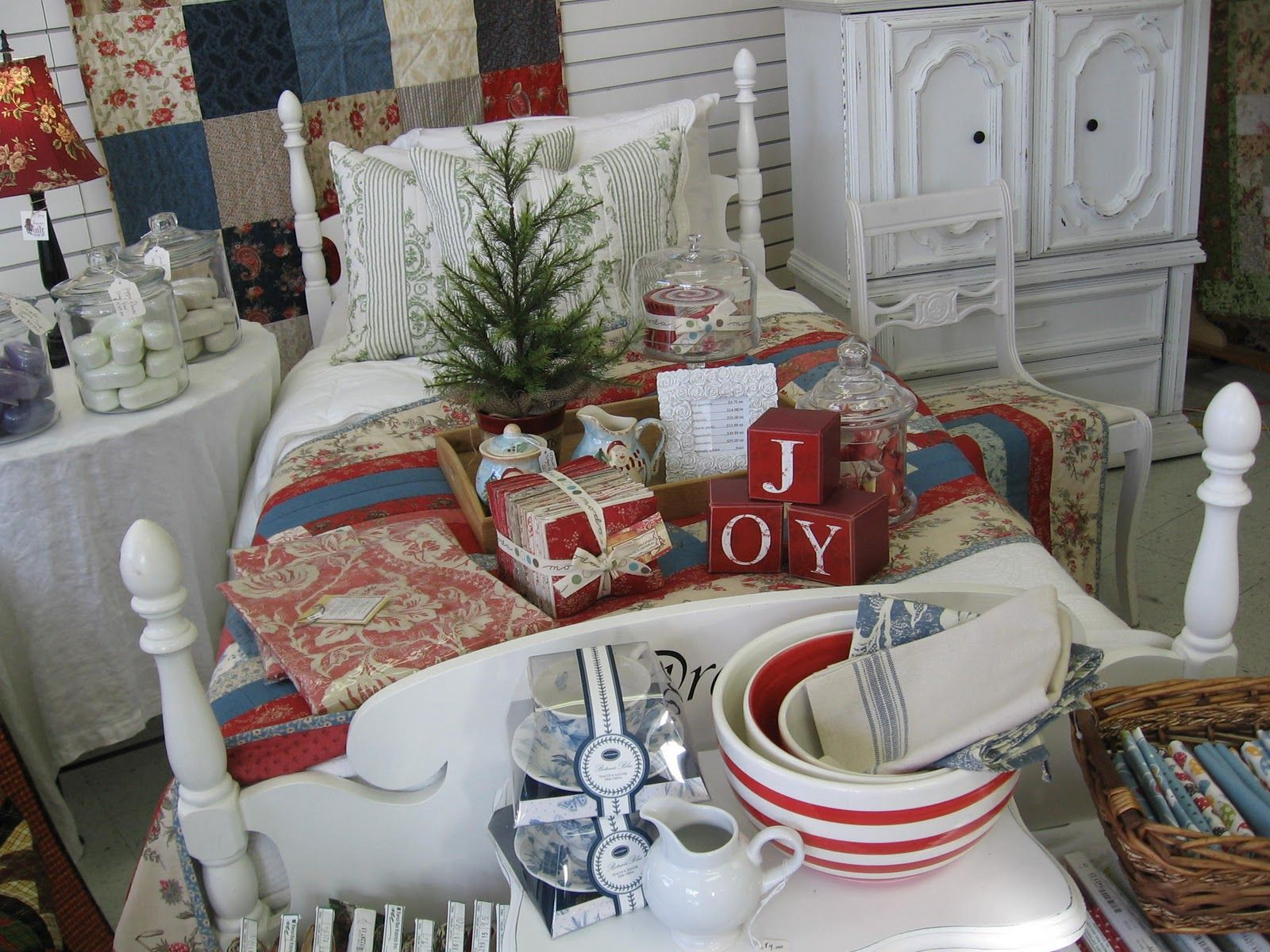 French Christmas Cottage Style
