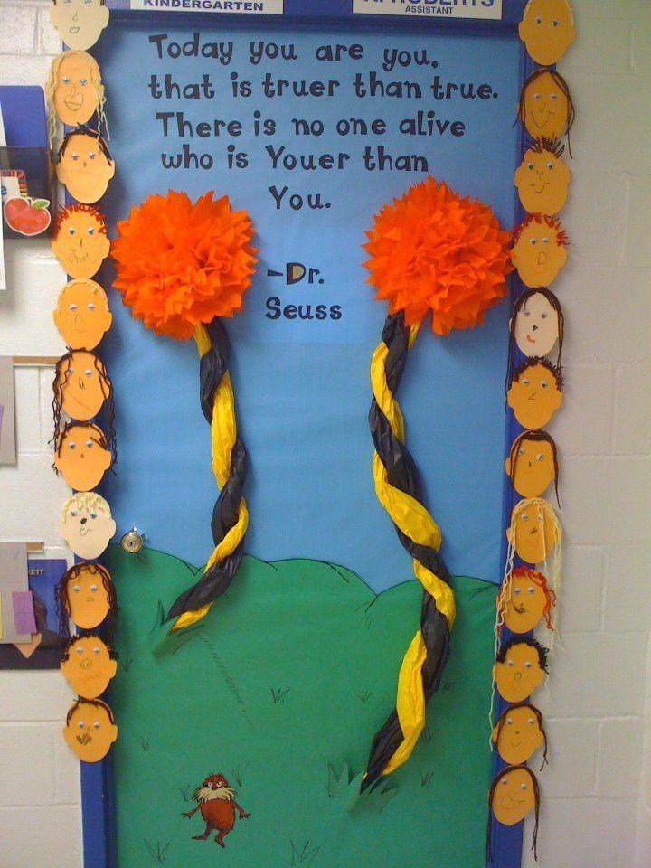 March/Dr. Seuss Door!
