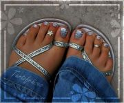 chrome.pedicure hair and beauty