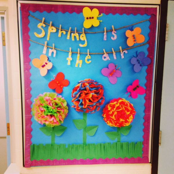 20 Pinterest Spring Bulletin Boards Pictures And Ideas On Meta Networks