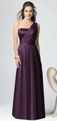 Plum bridesmaid dress | Purple / Lavender Weddings | Pinterest