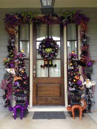 Decorating Your Front Door for Halloween