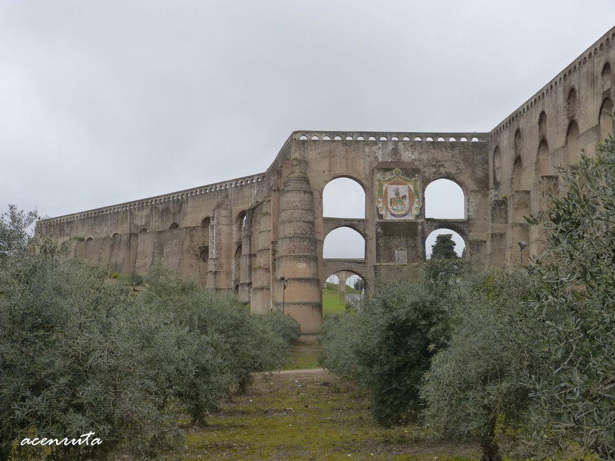 Elvas. Acueducto de Amoreira