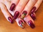 fall nail art nails
