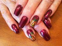 Fall nail art | ~Nails~ | Pinterest