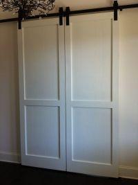 Custom Barn Doors - double doors   NIH   Pinterest