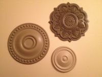 Ceiling Medallion Wall Art! | projects | Pinterest