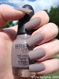 Sephora matte nail polish.... | Nail art | Pinterest