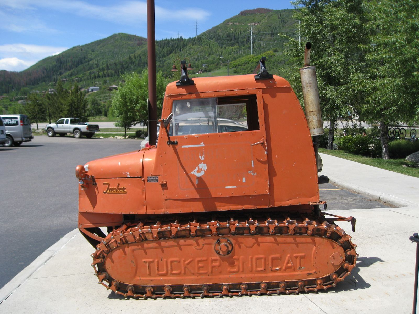 snowcat Cool, old iron Pinterest
