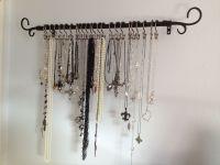 Necklace Display Holder | necklace holder creative diy ...
